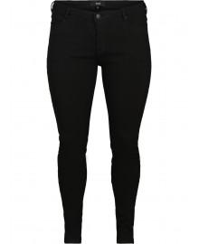 Zizzi JSTAY, Black, Jeans, Emily J10249B
