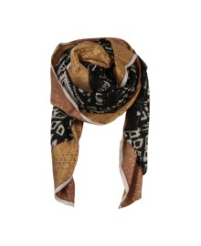 Black Colour ORIENTAL scarf jacquard black 188027