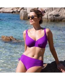 WIKI Full Cup Bikini Top 660-3467 Violet