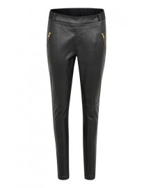 Kaffe Sofie Leather Pants 10502497