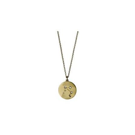 Pilgrim Halskæde: Vægt Stjernetegn - Guldbelagt 521612091