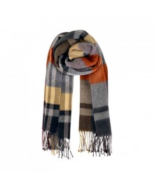 Black Colour KARO Scarf 198110BL