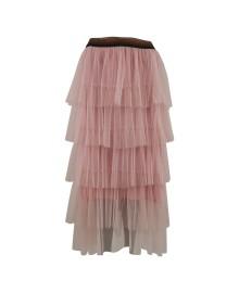 Black Colour AIDA Skirt Rose 9809RO