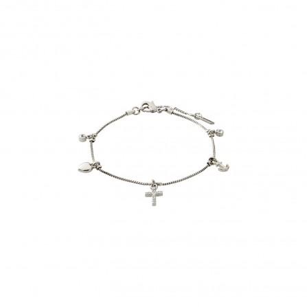 Pilgrim Armbånd: Anet: Sølvbelagt 602016002