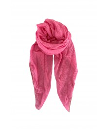 Black Colour EMMA Plain Scarf Pink 198136PI