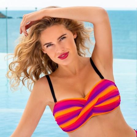 WIKI Bandeau bikini top 423-2491