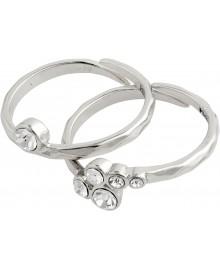 Pilgrim Ring: Fran: Sølvbelagt 602036004